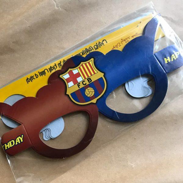 عینک تولد تم بارسلونا