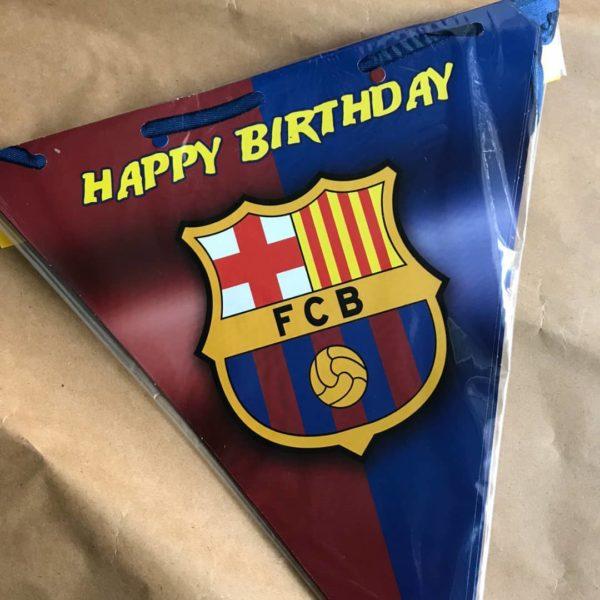 ریسه پرچمی تم بارسلونا
