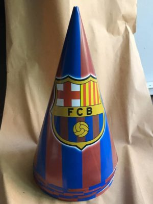 کلاه تولد تم بارسلونا