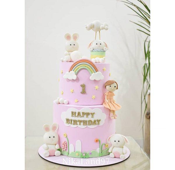 ماکت کیک خرگوشی