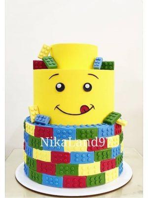 ماکت کیک لگو
