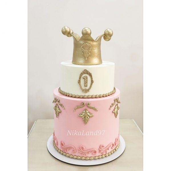 ماکت کیک تاج