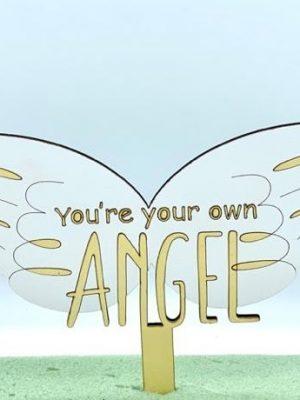 تاپر کیک بال فرشته